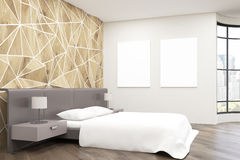Side view of bedroom Stock Images