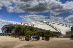 Side view of the Biodome in Montreal, Canada Stock Photo