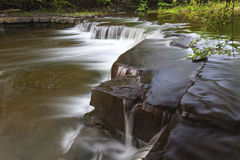 Side View of Bozenkill Preserve Falls. In New York stock photos