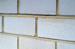 Side view of bricks - texture Stock Images