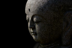 Side View Of Buddha's Face Royalty Free Stock Image