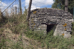 Side view of bunker Wimbledon Stock Photography