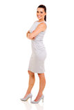 Side view businesswoman Stock Images