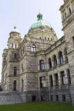 Side view of capital building of Victoria Canada Stock Image
