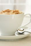 Side view of Cappuccino Royalty Free Stock Photos