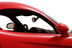 Side view of a car. Right side view of a car Stock Image