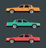 Side view of car Stock Photos