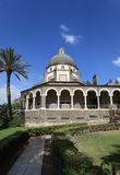 Side view of the Church of the Beatitudes Stock Images