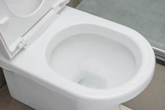 Side view closestool Stock Image