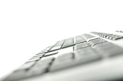 Side view of computer keyboard Stock Images