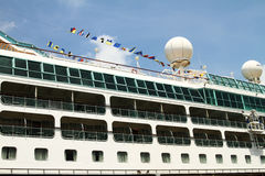 Side view of a cruise ship.  Stock Photography