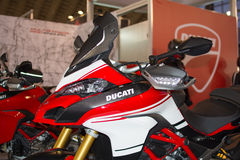 Side view of Ducati motorcycle Stock Photo