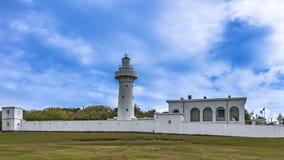 Side view of Eluanbi Lighthouse stock images