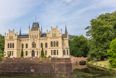 Side view of the Evenburg mansion in Leer Royalty Free Stock Photography