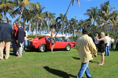 Side view Ferrari 308 GT4 Royalty Free Stock Photography