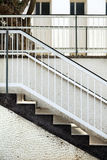 Outdoor Patio Stairs royalty free stock photo