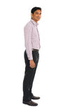 Side view of formal indian business man Royalty Free Stock Photos