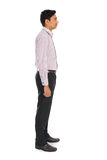 Side view of formal indian business man Stock Photos