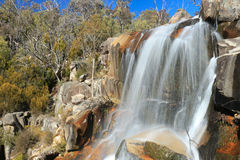 Side View Gibraltar Falls - Australia (ACT) Royalty Free Stock Images