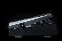 Side view of Guitar effect Pedal Stock Photos