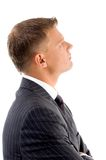 Side view of handsome lawyer Stock Image