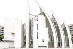 Side view of Jubilee Church Royalty Free Stock Photography