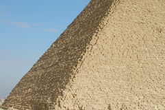 Side View of Khufu Pyramid - Egypt Stock Images