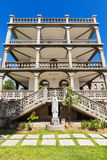 Side view of La Domus, Catholic residence in Victoria, Seychelles Royalty Free Stock Photos