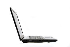 Side View Laptop Stock Images