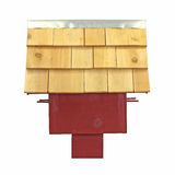 Side view of large bird house Royalty Free Stock Images