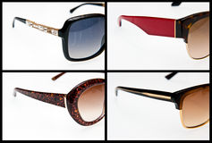 Side view of luxury sunglasses Stock Photo