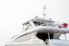Side view of Luxury yacht Stock Photos