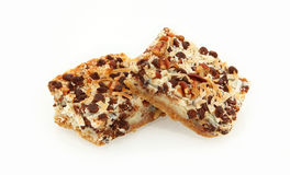 Side View Of Magic Cookie Bars Stock Images