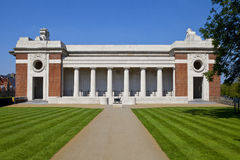Side View of the Menin Gate in Ypres Stock Photo