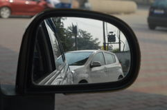 A side view mirror Royalty Free Stock Photo