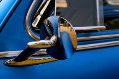Side View Mirror of Chevrolet Fleetmaster Stock Images