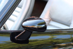 Side View Mirror On Classic Car Stock Photography