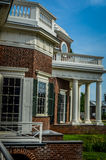 Side view of the Monticello home Royalty Free Stock Photo
