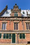 Side view of the Museum of Archeology in Haarlem Stock Photography