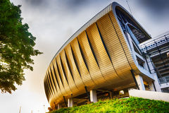 Side view of new Cluj Arena in Cluj-Napoca Stock Photos