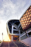 Side view of new Cluj Arena in Cluj-Napoca Royalty Free Stock Photo