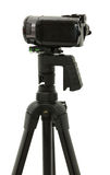 Side View Of HD Camcorder On Tripod Stock Images