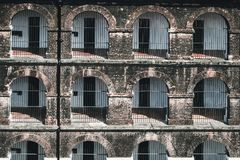 Side View Of One Of The Wings In The Port Blair Cellular Jail, Stock Photography