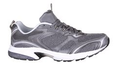 Side View Of Sport Shoe. Stock Photos