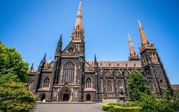 Free Side View Of St Patrick`s Cathedral And Spire A Roman Catholic Cathedral Church In Melbourne Vic Australia Stock Photography - 139178652