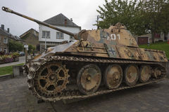 Free Side View Of The Panther Mk5 Tank In Houffalize Stock Photos - 73459613