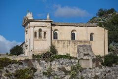 Free Side View Of The Rock Church Of The Rosary Stock Photography - 113740292