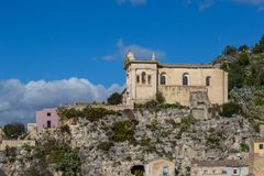 Free Side View Of The Rock Church Of The Rosary, Scicli Stock Photos - 113740453