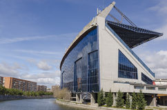 Free Side View Of Vicente Calderon Royalty Free Stock Photos - 38412108
