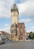 Side view of the old city hall - Prague - czech Republic Royalty Free Stock Photos